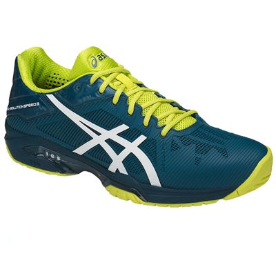 Asics Gel-Solution Speed 3 Mens Tennis Shoes SS18 - Angled