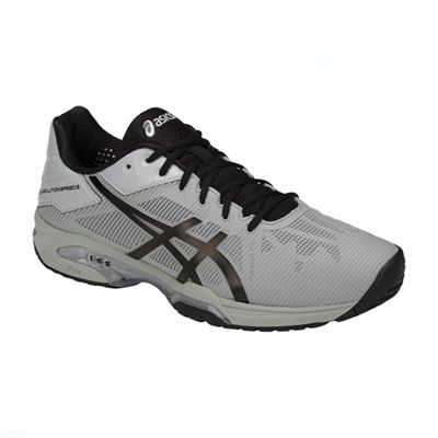 Asics Gel-Solution Speed 3 Mens Tennis Shoes SS18 - Grey - Angled