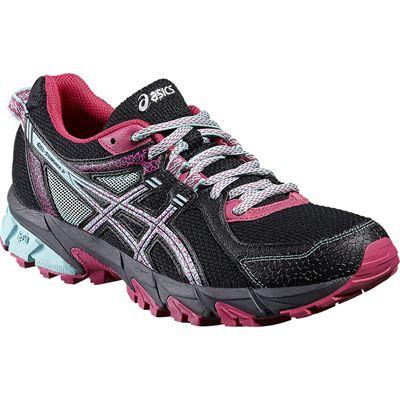 Asics Gel-Sonoma 2 Ladies Running Shoes-Angled
