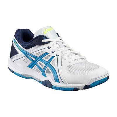 Asics Gel-Task Mens Indoor Court Shoes-Angled