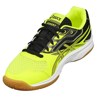 Asics Gel-Upcourt GS Boys Indoor Court Shoes - Angled