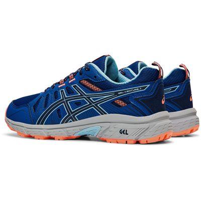 Asics Gel-Venture 7 Ladies Running Shoes - Angled