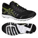Asics Gel-Zaraca 4 Mens Running Shoes-Black-Grey-Yellow