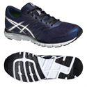 Asics Gel-Zaraca 4 Mens Running Shoes-Blue-Silver-Black