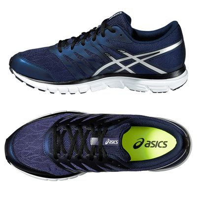 Asics Gel-Zaraca 4 Mens Running Shoes-Blue-Silver-Black Alternative View