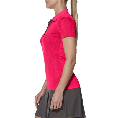 Asics GPX SS Ladies Tennis Polo-pink-side