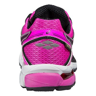 Asics GT-1000 4 G-TX Ladies Running Shoes-Back View