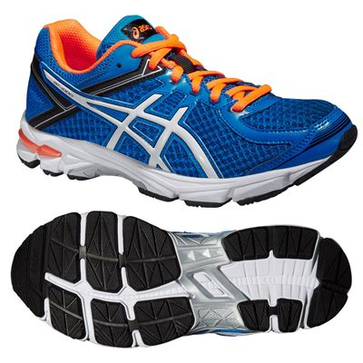 Asics GT-1000 4 GS Junior Running Shoes - Blue
