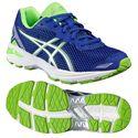 Asics GT-1000 5 GS Junior Running Shoes-Blue-Lime