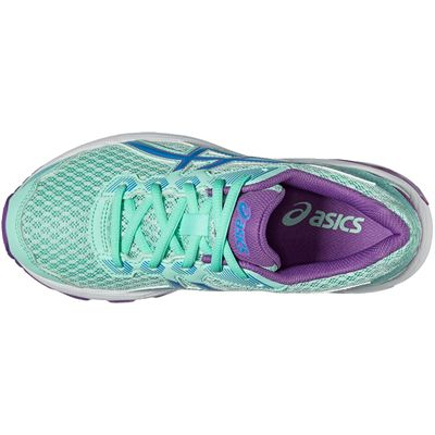 Asics GT-1000 5 GS Junior Running Shoes-Mint-Top