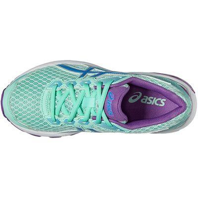 Asics GT-1000 5 GS Junior Running Shoes-Mint-Top