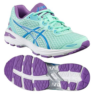 Asics GT-1000 5 GS Junior Running Shoes-Mint