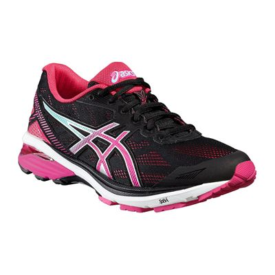 Asics GT-1000 5 Ladies Running Shoes-Angled
