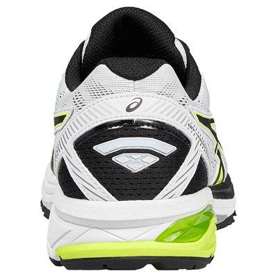 Asics GT-1000 5 Mens Running Shoes - White/Lime - Back