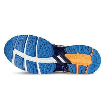 Asics GT-1000 5 Mens Running Shoes-blue-sole
