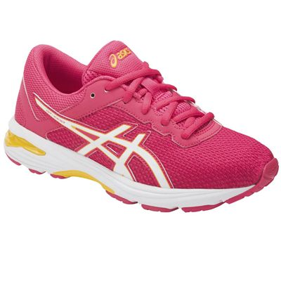 Asics GT-1000 6 GS Girls Running Shoes - Angled
