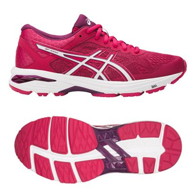 Asics GT-1000 6 Ladies Running Shoes- Pink