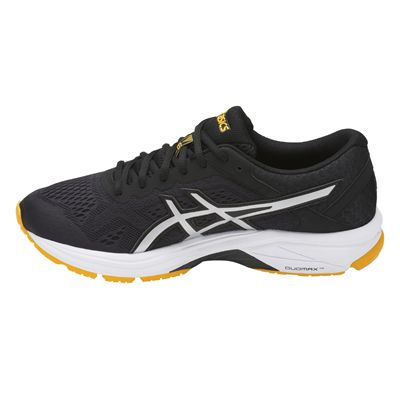 Asics GT-1000 6 Mens Running Shoes - Black/Side