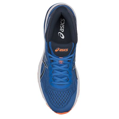 Asics GT-1000 6 Mens Running Shoes SS18 - Blue - Above