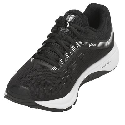 Asics GT-1000 7 Ladies Running Shoes - Black - Angled2