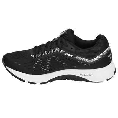 Asics GT-1000 7 Ladies Running Shoes - Black - Side