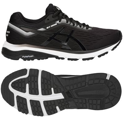 Asics GT-1000 7 Ladies Running Shoes - Black
