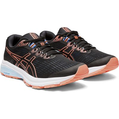 Asics GT-1000 8 Ladies Running Shoes - Angled