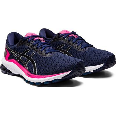 Asics GT-1000 9 Ladies Running Shoes - Angled