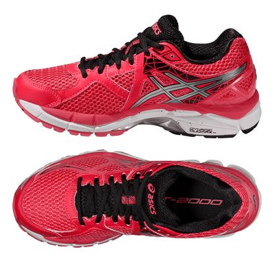Asics GT-2000 3 Ladies Running Shoes - Silver Black - Alternative View