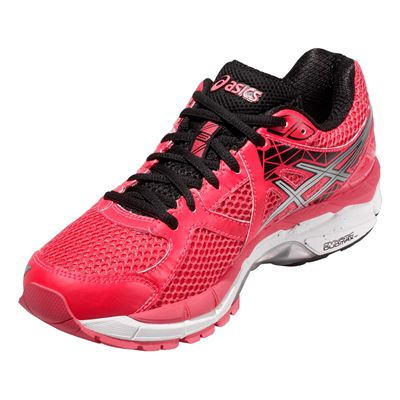 Asics GT-2000 3 Ladies Running Shoes - Silver Black - Angle View