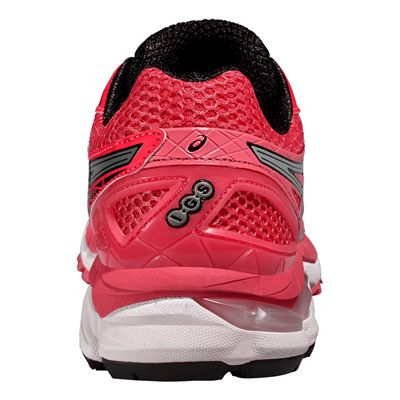 Asics GT-2000 3 Ladies Running Shoes - Silver Black - Back View