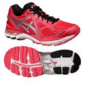 Asics GT-2000 3 Ladies Running Shoes - Silver Black
