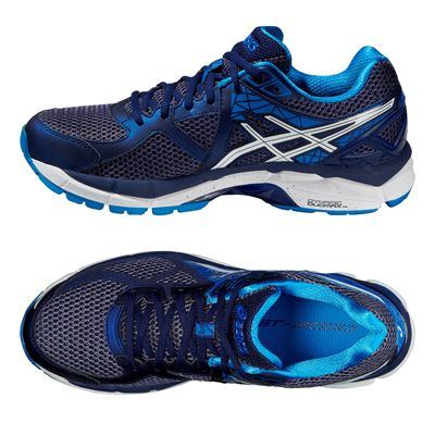 Asics GT-2000 3 Mens Running Shoes - Blue White - Alternative View