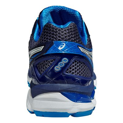 Asics GT-2000 3 Mens Running Shoes - Blue White - Back View