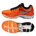 Asics GT-2000 3 Mens Running Shoes - Orange Silver Black