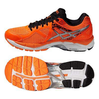 Asics GT-2000 3 Mens Running Shoes - Orange Silver Black