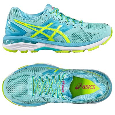 Asics GT-2000 4 Ladies Running Shoes - Blue - Top
