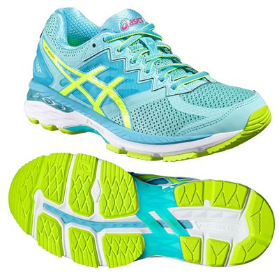 Asics GT-2000 4 Ladies Running Shoes - Blue
