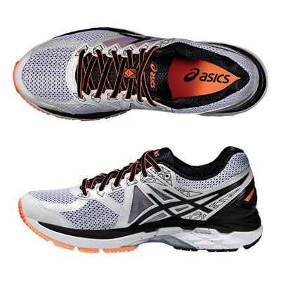 Asics GT-2000 4 Mens Running Shoes-White-Black-Orange-Alternative View