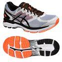 Asics GT-2000 4 Mens Running Shoes-White-Black-Orange