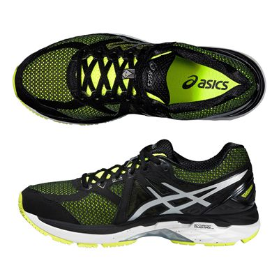 Asics GT-2000 4 Mens Running Shoes-Yellow-Black-Silver-Alternative View
