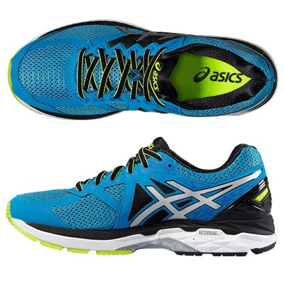 Asics GT-2000 4 Mens Running Shoes - Blue - Top