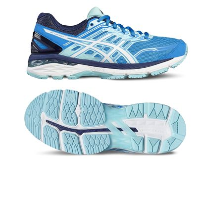 Asics GT-2000 5 Ladies Running Shoes-blue-main