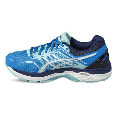 Asics GT-2000 5 Ladies Running Shoes-blue-side2
