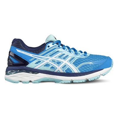 Asics GT-2000 5 Ladies Running Shoes-blue-side
