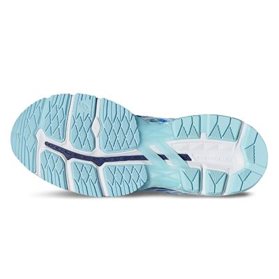 Asics GT-2000 5 Ladies Running Shoes-blue-sole