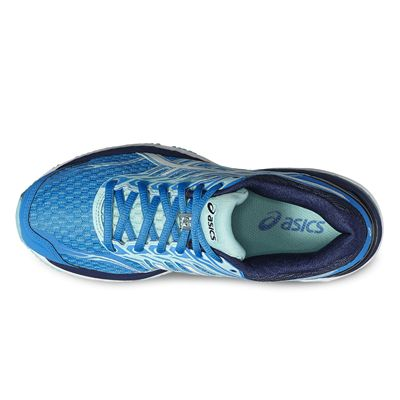 Asics GT-2000 5 Ladies Running Shoes-blue-top