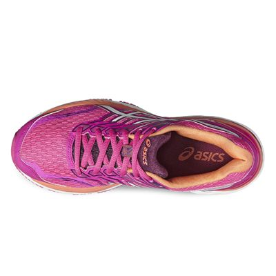 Asics GT-2000 5 Ladies Running Shoes-pink-top