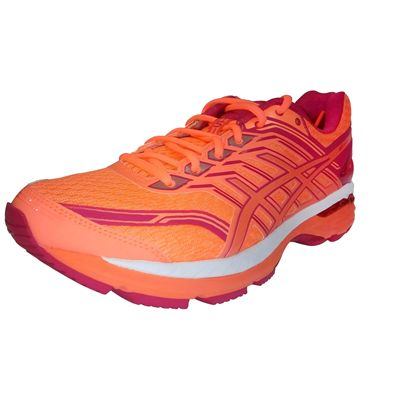 Asics GT-2000 5 Ladies Running Shoes - Orange - Main