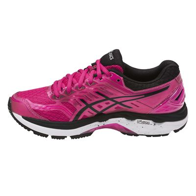 Asics GT-2000 5 Ladies Running Shoes AW17 - Pink/Side